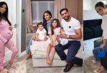 Photo of Amir Khan spending quality time with his family